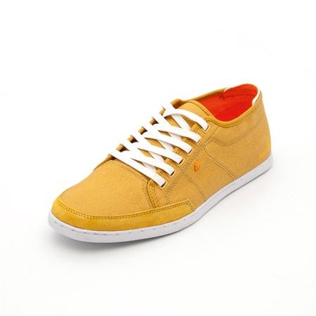 Boxfresh SARI Erkek Oxford-Ayakkabı E12044 SPARKO WXD CNVS MIN YELLOW-ORANGE M-MINERAL YELLOW-OR
