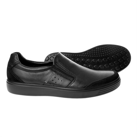 Erkek Loafer 43079451052 ECCO SOFT 7 M BLACK-BLACK