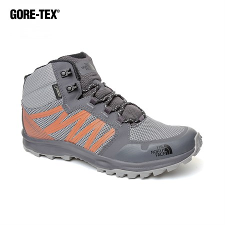 GRİ Erkek Outdoor Bot T93FX22EH M LW FP MID GTX (GC) THE NORTH FACE  GRIFFIN GREY-SCARLET IBIS