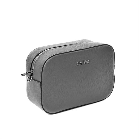 GRİ Kadın Postacı Çantası GU-7595 JOHN MAY LEATHER CROSSBODY BAG D. GREY