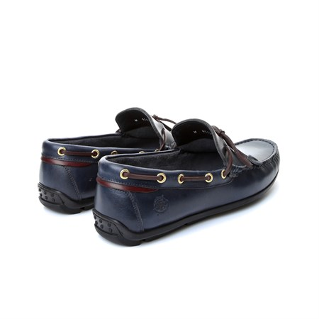LACİVERT Erkek Loafer AG- 61123 JOHN MAY NAVY