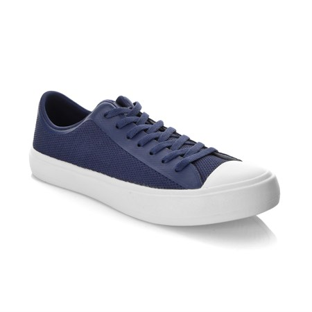 People LACİVERT Kadın Keten Ayakkabı NC-01 PHILLIPS MARINER BLUE-PICKET WHITE