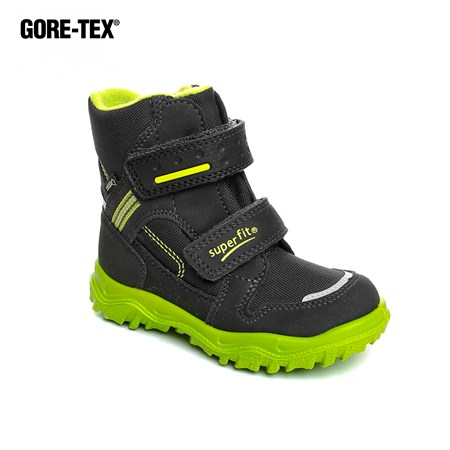Superfit GRİ Kız Çocuk Outdoor Bot 3-09044-20 SUPER FIT GORETEX GRI-YESIL 26-30