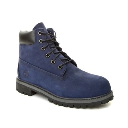 Timberland LACİVERT Kadın Bot CA1MMR 6 IN PREMIUM WP BOOT EVENING BLUE WATERBUCK